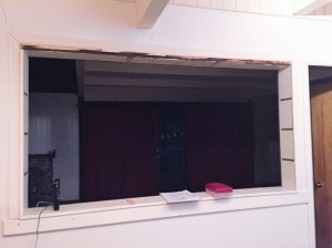 After Living Room Window